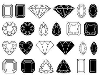 Gems clipart logo Gems Jewelry Clip Vector clipart