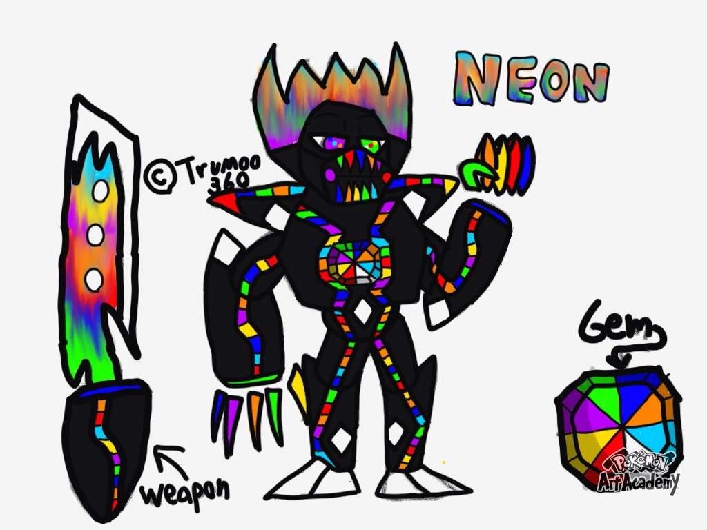 Gems clipart neon Metal My created Amino had
