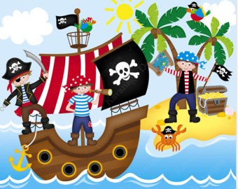 Gems clipart pirate Pirate paper for Ship Clipart