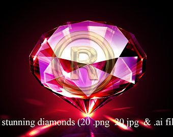 Gems clipart purple diamond Photoshop Diamonds ( art overlay