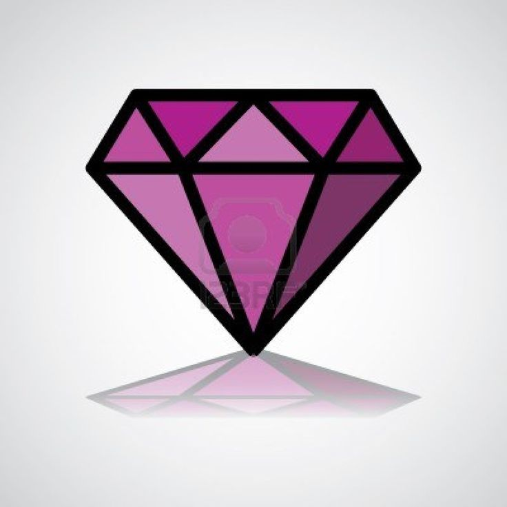 Gems clipart purple diamond Best clipart Pinterest purple images