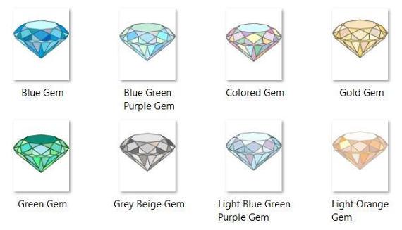 Gems clipart purple diamond Is digital 16 Clipart Gemstone