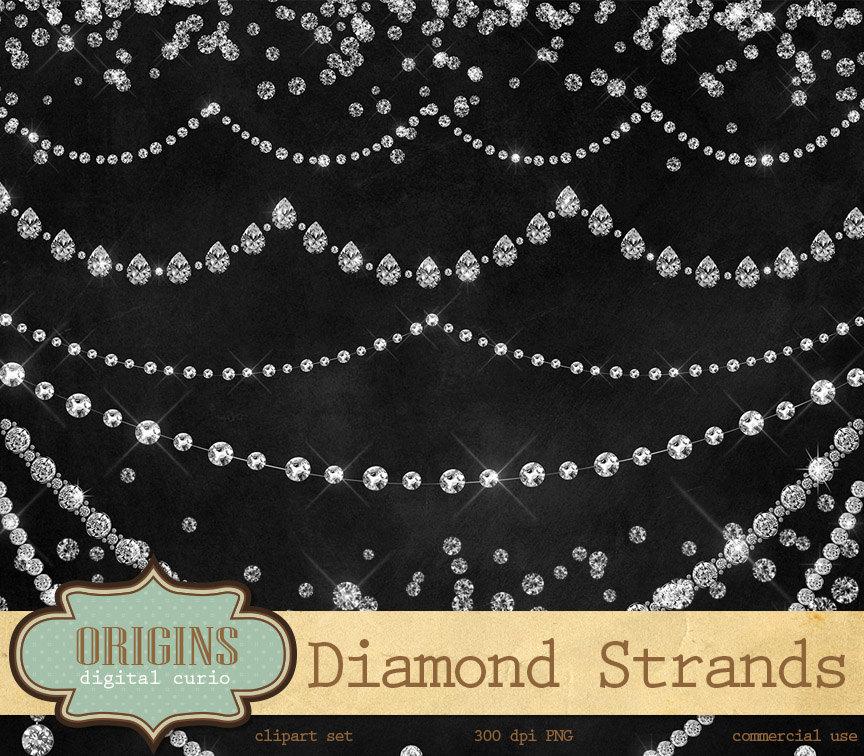 Rhinestone clipart diamond border Clip is Clipart Necklace Diamond