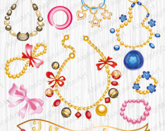 Necklace clipart jewelry #10