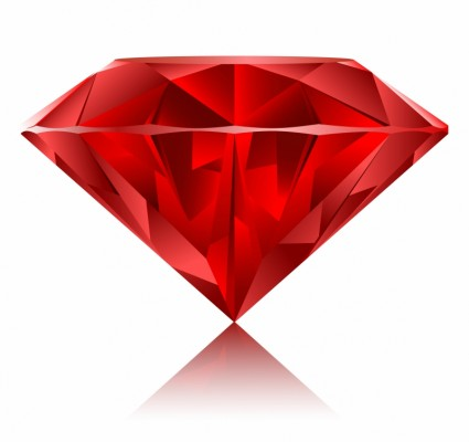 Gems clipart ruby Zone free vector Ruby gem