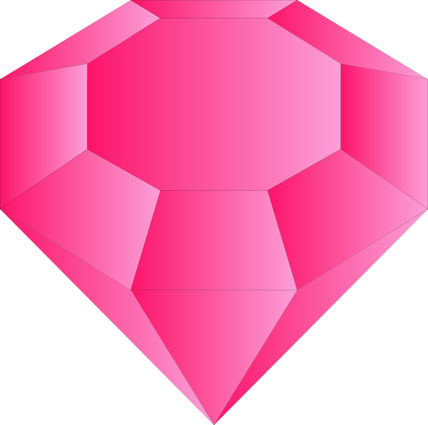 Gems clipart ruby Vector Gem clip as: Clker