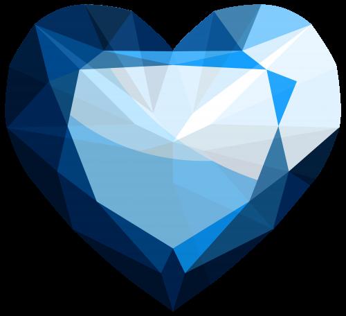 Gems clipart sapphire Pinterest Heart PNG Sapphire Heart