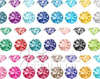 Crystal clipart sapphire Jewels Diamonds Crystals Gems Clipart
