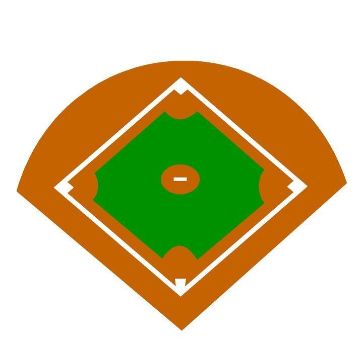 Baseball Clipart Images Baseball Diamond