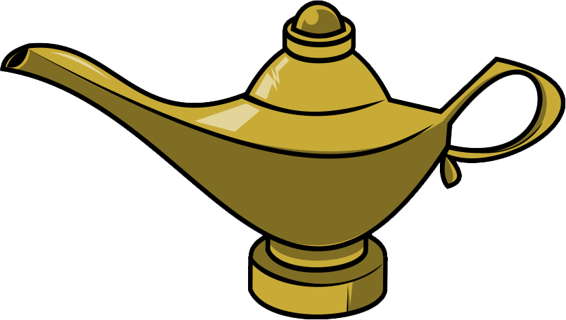 Genie Lamp clipart golden Lamp Savoronmorehead to Genie Domain