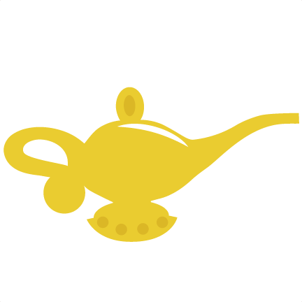 Genie Lamp clipart golden Magic lamp Lamp Magic lamp