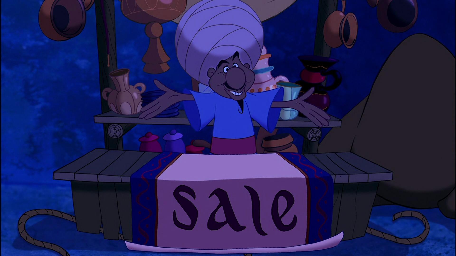 Genie Lamp clipart aladdin jafar D – com disneyscreencaps 105