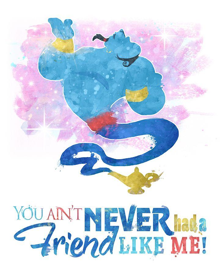 Genie Lamp clipart aladdin quote Aladdin Download 25+ DIGITAL Genie