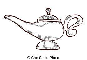 Lamps clipart aladin Aladin Aladin illustration Stock Illustrations