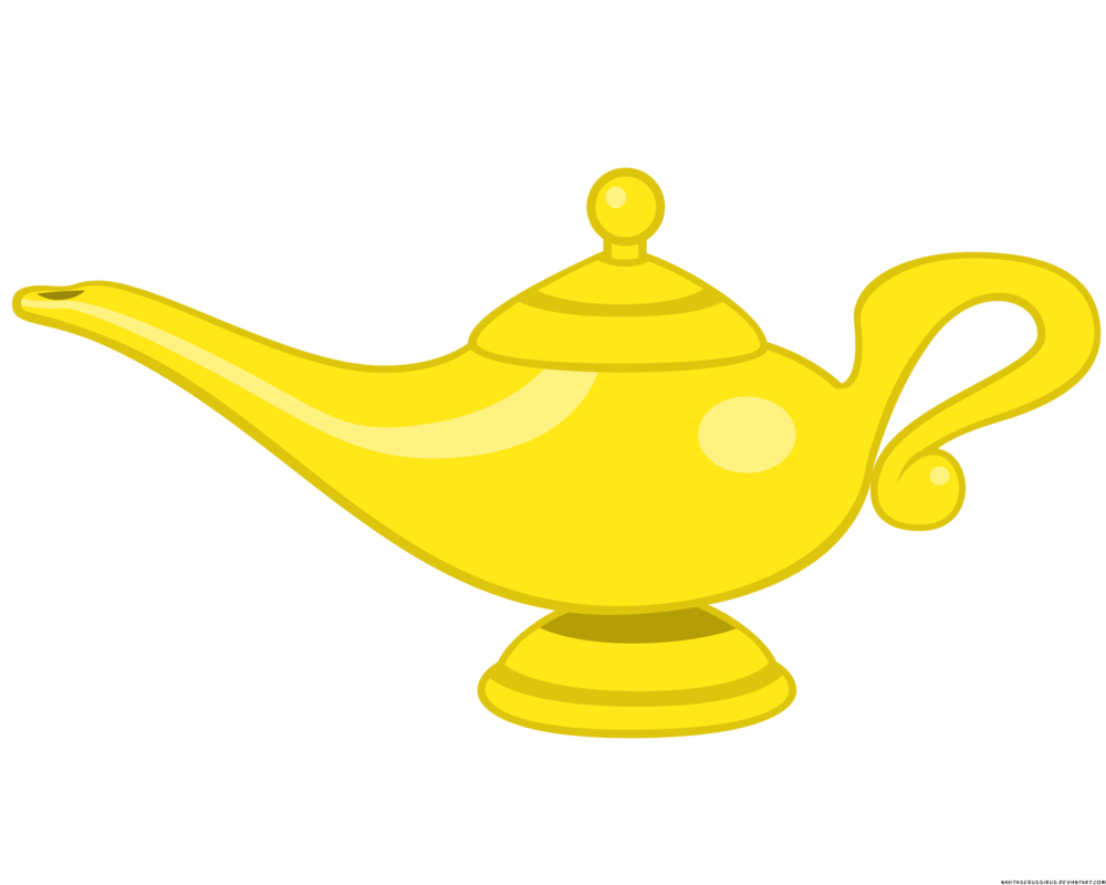 Genie Lamp clipart character #1