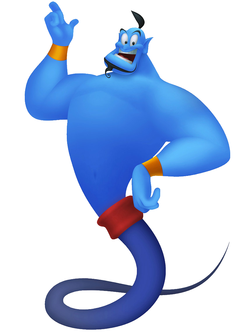 Genie Lamp clipart character Silhouette Search genie disney Search