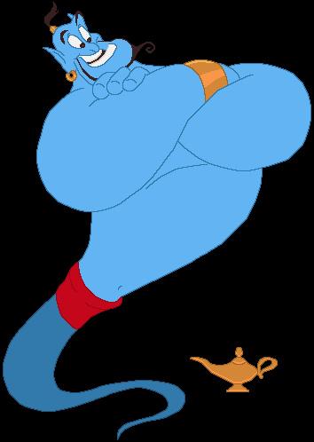 Genie Lamp clipart disney's aladdin Disney genie aladdin 03 Maurina