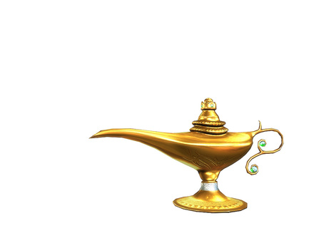 Genie Lamp clipart golden Genie org Genie Lamp Kid