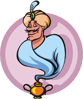 Genie Lamp clipart jeannie Inkspired musings: Another clever photograph