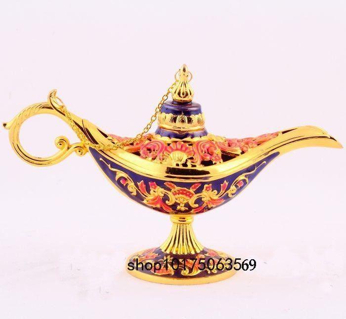 Genie Lamp clipart lamp light Black Enamel Pot Aladdin Aladdin