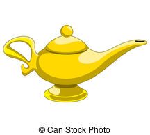 Lamps clipart alladin Magic Collection lamp: lamp golden