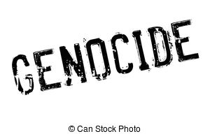 Genocide clipart  stamp rubber stamp Stock