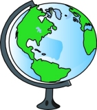 Geography clipart mountain peak Globe Illustrations Art Geography Clip