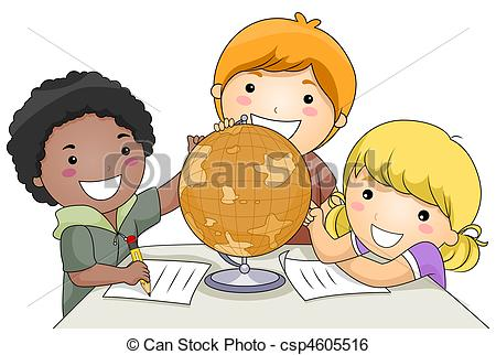 Geography clipart adventure Clip Kids Geography and Studying