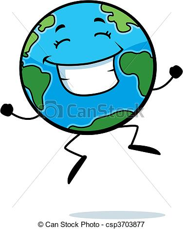 Geography clipart animated globe Illustration of A Earth Earth
