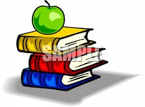 Geography clipart apple book Clipart Books clipartsgram With A