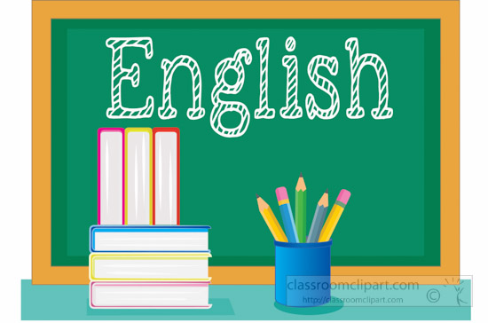 Book clipart chalkboard 116 english books Pictures pencil