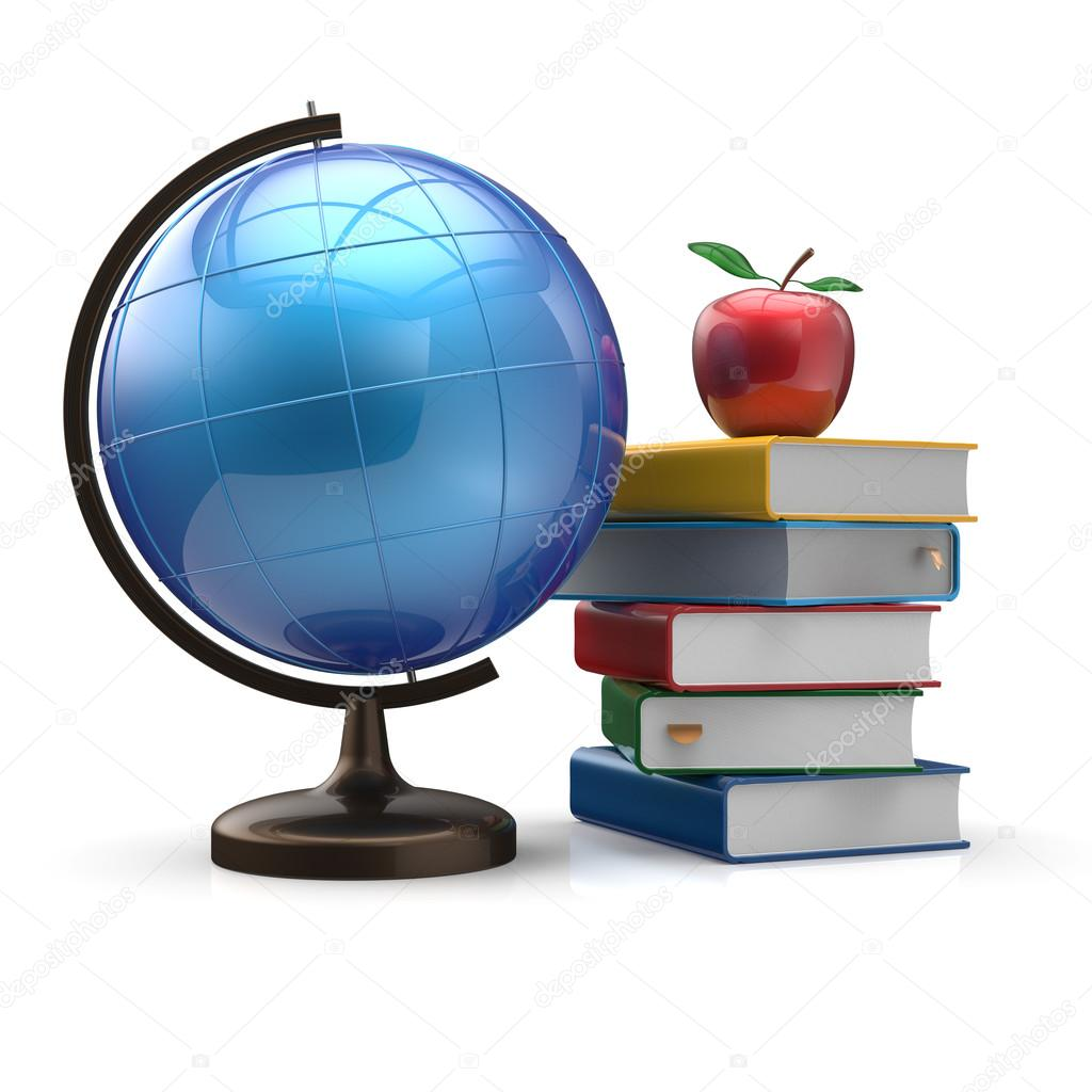 Geography clipart apple book Apple  icon geography Books