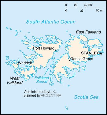 Geography clipart atlas Com and  Infoplease Falkland