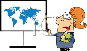 Geography clipart cartoon Of Free Geography Teaching a