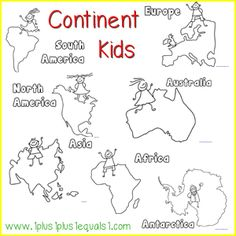 Geography clipart continent Geography Free {world Printables Fact