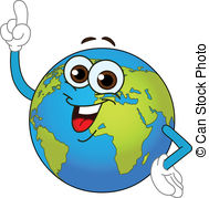 Geography clipart globe World with Downloads  Cartoon