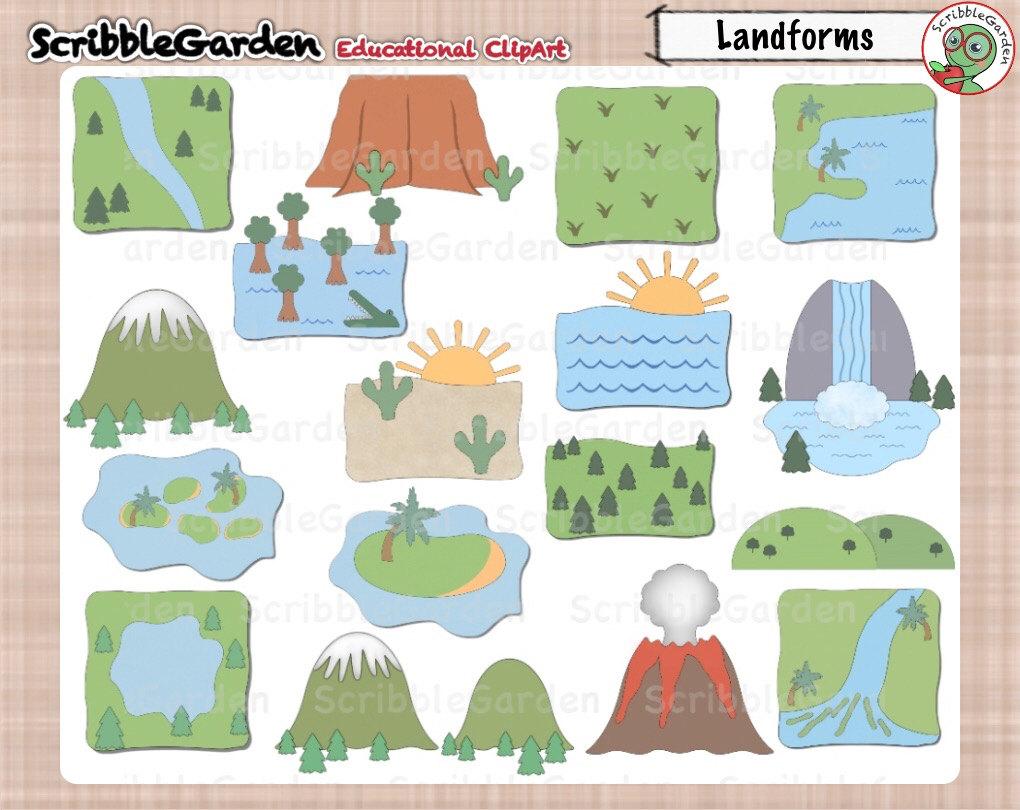ScribbleGarden is file Geography Etsy