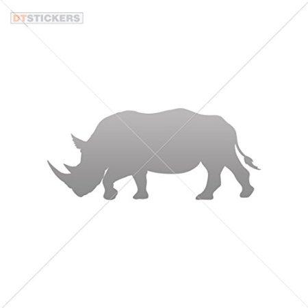 Boat For Decal Rhinoceros