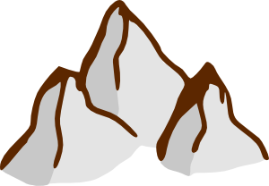 Geography clipart high mountain River art #2973 quality clip