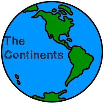 Continent clipart geography class On  Best Pinterest images