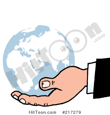Geography clipart holding hand Larger #1 Illustrations  Free
