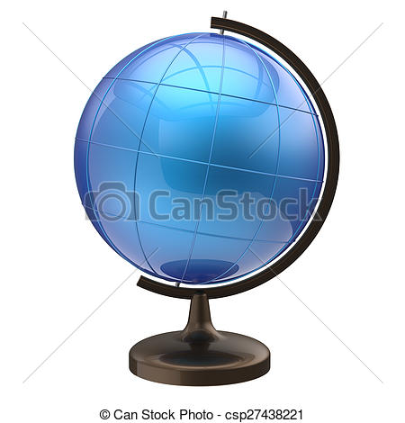 Geography clipart international  globe blank globe Earth