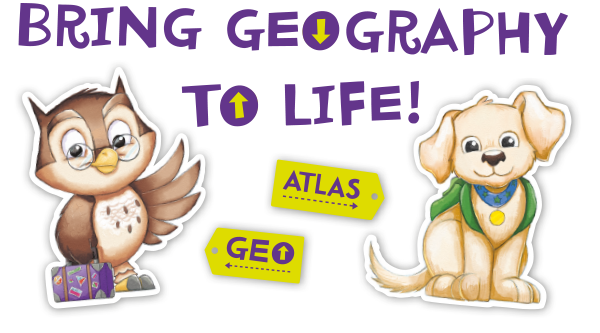 Geography clipart journey Letters the the Geography Colourful