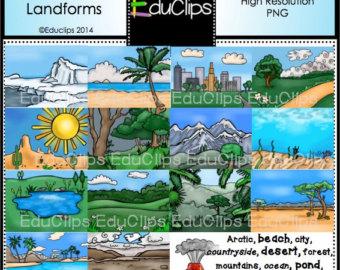 Oasis clipart landform #13