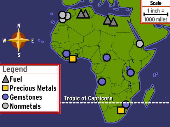 Geography clipart map skill Map Skills  BrainPOP
