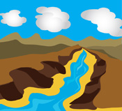 Geography clipart mountain Illustrations Size: Graphics Clipart 59