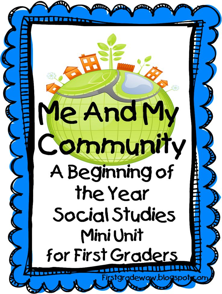 Geography clipart school community Grade Wow: around Me best