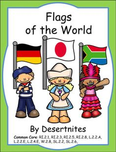 Geography clipart school resource The Nations Australia World Flags