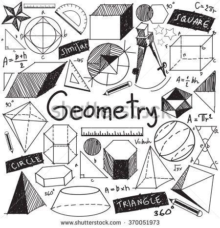 Geometry clipart advanced mathematics Geometry Pinterest mathematical theory doodle