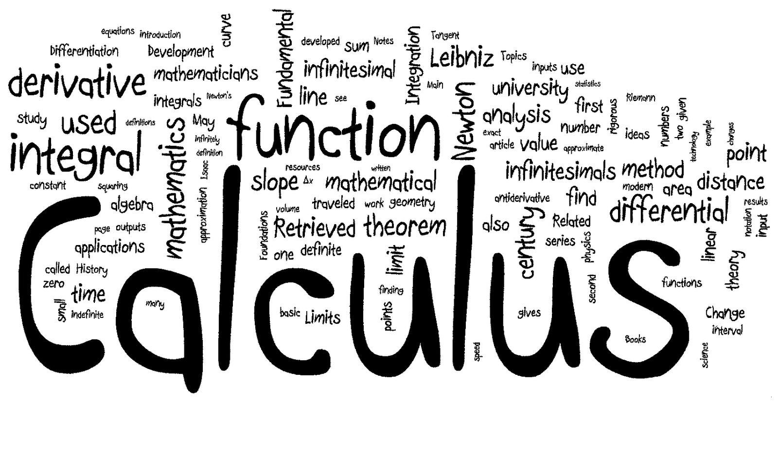 Geometry clipart calculus General Course: AP Calculus